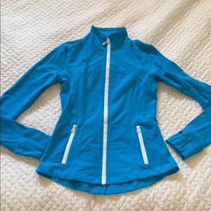 Lululemon define jacket in turquoise